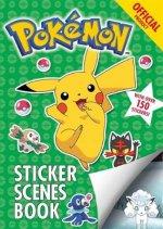 Official Pokemon Sticker Scenes Book