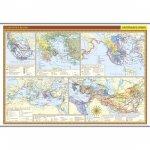 Starověké Řecko - školní nástěnná mapa/136 x 96 cm