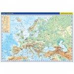 Evropa - školní fyzická nástěnná mapa, 136x96 cm/1:5 mil.