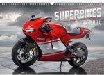Kalendář nástěnný 2018 - Superbikes