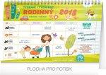 Kalendář 2018 - Rodinný plánovací s háčkem 2018, týdenní, 30 x 21 cm