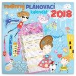 Kalendář 2018 - Rodinný plánovací, 30 x 30 cm
