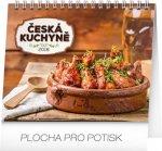 Kalendář stolní 2018 - Česká kuchyně, 16,5 x 13 cm