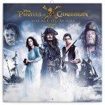 Kalendář poznámkový 2018 - Pirates of the Caribbean – Dead Men Tell No Tales, 30 x 30 cm