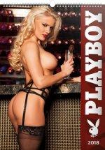 Kalendář nástěnný 2018 - Playboy