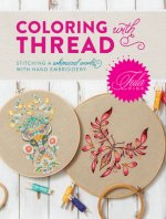 TULA PINK COLORING W/THREAD