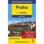 Praha - 1:20 000 plán města do kapsy