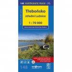 Třeboňsko,střední Lužnice 1:70 000