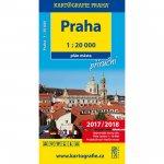 Praha - 1:20 000 plán města příruční