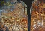Pohled Alfons Mucha  – Hájení Szigetu proti Turkům, krátký (Slovanská epopej)