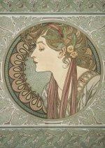 Pohled Alfons Mucha – Laurel, krátký