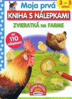 Moja prvá kniha s nálepkami Zvieratká na farme