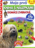 Moja prvá kniha s nálepkami Domáce zvieratká