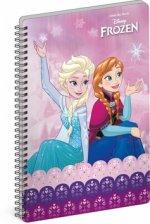Blok - Frozen – Ledové království Joy, nelinkovaný, spirálový, A5