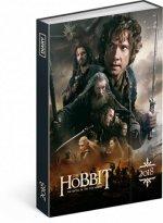 Diář 2018 - Hobbit, týdenní magnetický, 10,5 x 15,8 cm