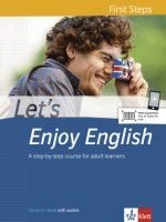 Let's Enjoy English A1. Student's Book with audios