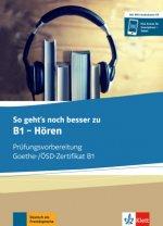 So geht's zu B1 - Hören. Buch und MP3-Audio-Daten-CD