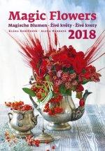 Kalendář nástěnný 2018 - Živé květy