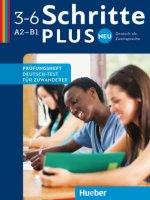 Schritte plus Neu 1-3 A2-B1 Deutsch als Zweitsprache. Prüfungsheft Deutsch-Test für Zuwanderer mit Audio-CD