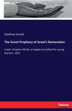 The Great Prophecy of Israel's Restoration