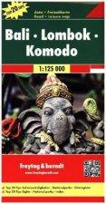 Bali-Lombok-Komodo 1:125 000