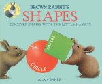 BROWN RABBITS SHAPES BOUND FOR