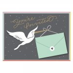 Cheree Berry Stork Stops Here Baby Shower Invite