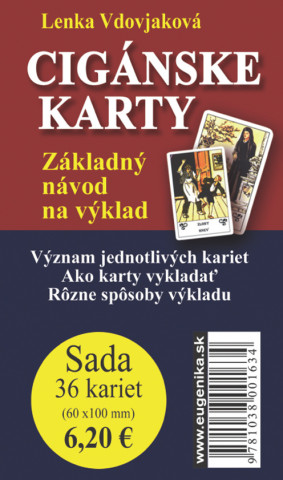 Cigánské karty (karty + brožurka)