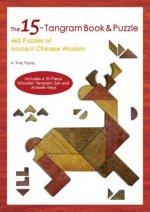 15-Tangram Book & Puzzle