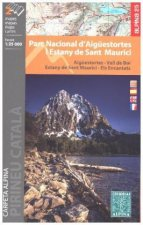 Aiguestortes pn/Sant Maurici map and hiking guide