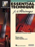 Essential Technique for Strings (Essential Elements Book 3): Violin