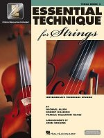 Essential Technique for Strings (Essential Elements Book 3): Viola