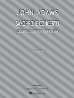 Saxophone Concerto: For Solo Alto Saxophone and Piano Reduction