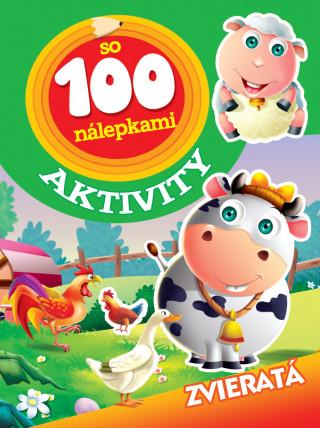 Aktivity so 100 nálepkami Zvieratá