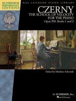 Czerny - School of Velocity, Op. 299: Schirmer Performance Editions Book Only