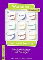 Wortarten üben und festigen - Kl. 4-6. Kopiervorlagen mit Lösungen