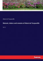 Memoir, letters and remains of Alexis de Tocqueville