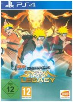 Naruto Shippuden Ultimate Ninja Storm Legacy, 1 PS4-Blu-ray Disc