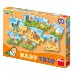 RODINA - baby trio puzzle 8x3