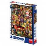 Filmové plakáty - puzzle 1500 dílků