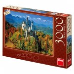 Neuschwanstein na podzim - puzzle 3000 dílků