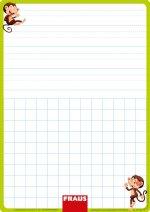 Stíratelná tabulka pro 1. ročník nevázané písmo