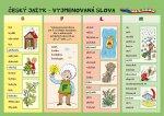 Český jazyk Vyjmenovaná slova