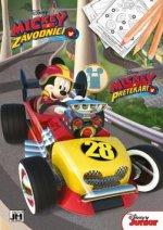 Mickey Mouse omalovánka