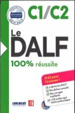 DALF 100% reussite C1/C2 ksiazka + plyta MP3