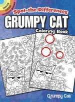 Spot-the-Differences Grumpy Cat Coloring Book