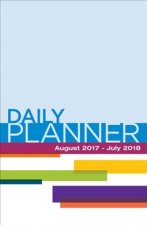Daily Planner August 2017- July 2018