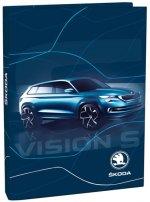 Box na sešity A5 - Škoda Vision