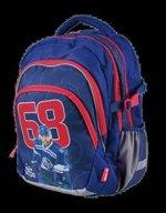 Školní batoh - Jágr 68 modrý teen