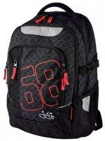 Školní batoh - Jágr 68 černý teen